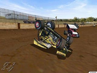 Dirt Track Racing Sprint Cars PC, 2000