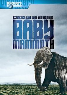 Baby Mammoth Raising the Mammoth DVD, 2008, Discovery Channel
