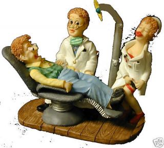 Keep Your Garter Up dentist figurine Dental Emporium