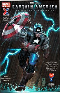 CAPTAIN AMERICA The First Avenger AAFES Exclusive Comic Book #11