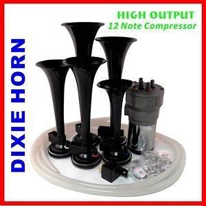 DIXIE Musical 12 Notes Car Air Horn Dukes of Hazzard General Lee