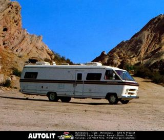 1978 Sportscoach II Dodge Motorhome RV Photo Poster