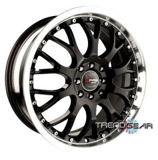17 DRAG DR19 BLACK WHEELS RIMS DODGE NEON LANCER GALANT