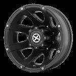 17 Inch Black Wheels Rims Dodge RAM 3500 Chevy Silverado Ford F350