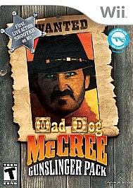 Mad Dog McCree Gunslinger Pack Wii, 2009