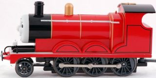 HO Scale Train Thomas & Friends Locomotives James The Red Engine 58743
