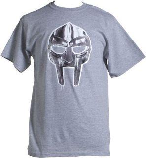 MF DOOM MASK 2 SHIRT T Shirt XL (Grey) by Rhymesayers Entertainment