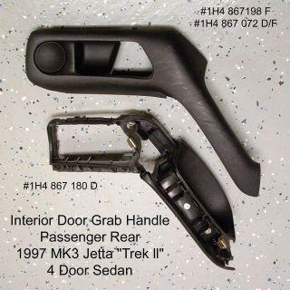 VW MK3 Jetta Golf Door Pull Grab Handle 93 98 PR 1H4867198F /072D/F