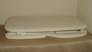 Polder Brand Reversible Tabletop Ironing Board Tapered Sleeveboard