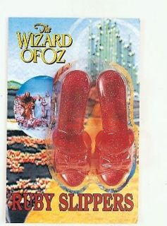 Adult Dorothy Ruby Slippers Fancy Dress Costume Wizard of Oz Shoes