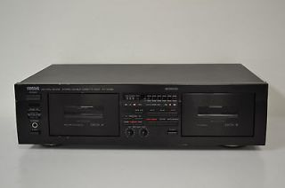 yamaha dual cassette deck in TV, Video & Home Audio