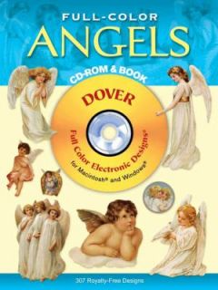 Full Color Angels by Dover Publications Inc. Staff 2002, Paperback