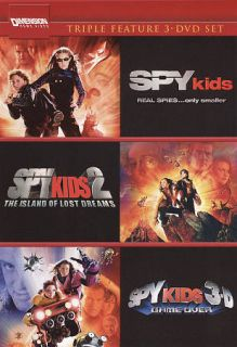 Spy Kids Spy Kids 2 The Island of Lost Dreams Spy Kids 3 Game Over DVD