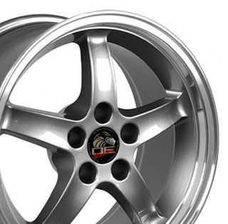 17x9 Gunmetal Cobra R Wheel Fits Mustang® 94 04