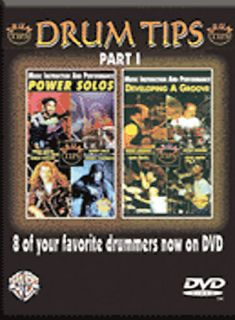 Drum Tips Part I   Power Groove Power Solos DVD, 2003