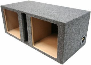 DUAL 10 SOLOBARIC PORTED L3 L5 L7 SUBWOOFER SPEAKER SUB BOX ENCLOSURE