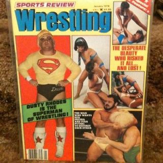 Wrestling Magazine Jan 1979 Dusty Rhodes Womens Apartment Girls