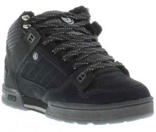 DVS Shoes Genuine Militia Boot Mens Water Resistant Black Shoes Sizes