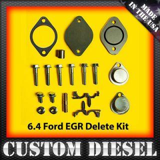 08 10 Ford 6.4 Superduty EGR Delete Kit