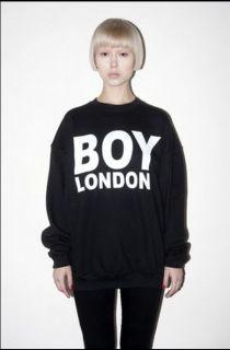 Unisex black sport boy london sweater coat fashion bigbang