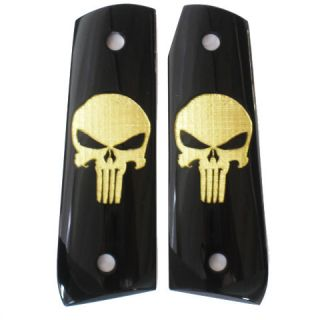 Ruger 22/45 RP Grips   DURAGRIPS   Smooth Punisher   Black / Gold