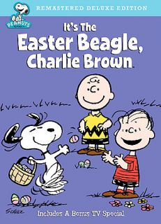 Peanuts Its the Easter Beagle, Charlie Brown DVD, 2008, Deluxe