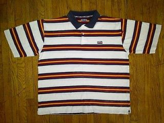 Enyce Clothing Co Hip Hop Urban White Red Yellow Blue Polo Shirt 3xl