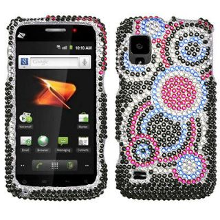 For ZTE N860(Warp) Case Cover Bling Rhinestones Bubble Diamond *