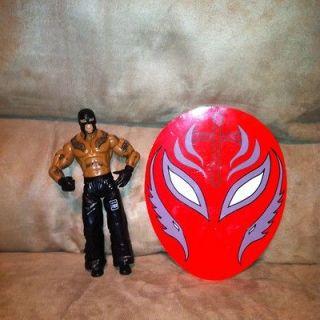 WWE Jakks REY MYSTERIO Best Of 2009 Figure And Mask Magnet