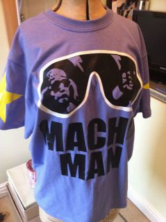 MACHO MAN RANDY SAVAGE WCW WWF WWE nWo T SHIRT ALL SIZES NEW CM PUNK