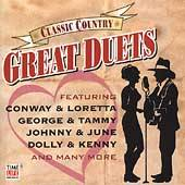 Classic Country Great Duets 1 CD, Oct 2004, Time Life Music