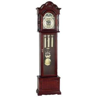 Edward Meyer™ Grandfather Clock W Beveled Glass & 31 Day Movement