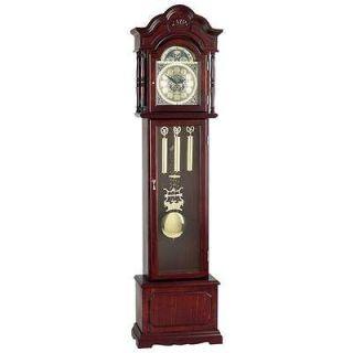 Edward Meyer™ Grandfather Clock W Beveled Glass & 31 Day Movement