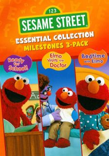 Sesame Street Essential Collection Milestones DVD, 2011, 3 Disc Set