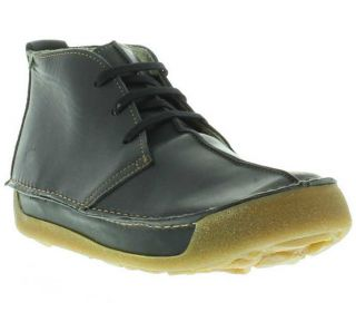 El Naturalista Shoes Genuine N243 Mens Black Chukka Boot Sizes UK 8