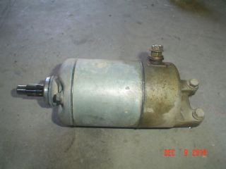 99 HONDA FOURTRAX 300 TRX300EX EX ELECTRIC STARTER MOTOR START 300EX