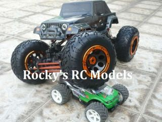 10 4WS Pro Rock Crawler RTR Package 94180 T2 RC Remote Control Truck