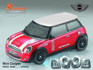 Mini PC Transparent RC R/c On Road Racing DRIFT Car Body Shell Spoiler