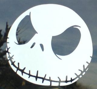 HALLOWEEN JACK SKELLINGTON WINDOW WALL STICKER DECAL BRAND NEW