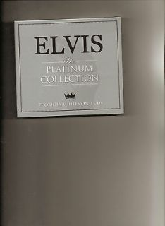 Elvis Presley The Platinum Collection 3 CD Set 75 Original Hits New
