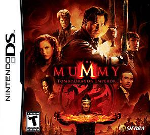 The Mummy Tomb of the Dragon Emperor Nintendo DS, 2008
