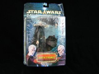 Unleashed Star Wars Darth Tyranus Action Figure Hasbro Toys The Old