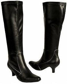 Etienne Aigner Sanctum tall stretch boot black 6.5 MdNEW