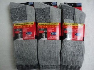 Pairs Mens Or Women Excell 60% Merino Wool Thermalsport Thermal
