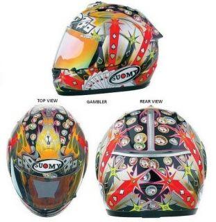 Suomy Helmet Spec 1R Extreme GAMBLER XXL   CLOSEOUT
