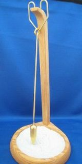 and Sand Pit and Pendulum, Oak, Zen Executive Toy, Home Decor New