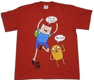 Adventure Time With Finn & Jake Im On a Shirt Licensed Adult T Shirt
