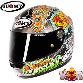 Suomy Vandal Murales Medium Helmet Full Face Brand New Free Shipping