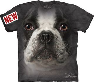 THE MOUNTAIN FRENCH BULLDOG FACE PUPPY DOG MANS BEST FRIEND PET T
