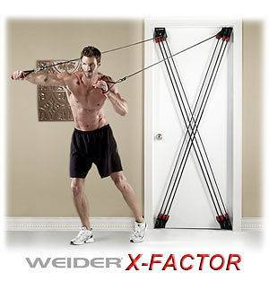 Weider X Factor WXF09 Total Trainer Home Gym NEW IN BOX